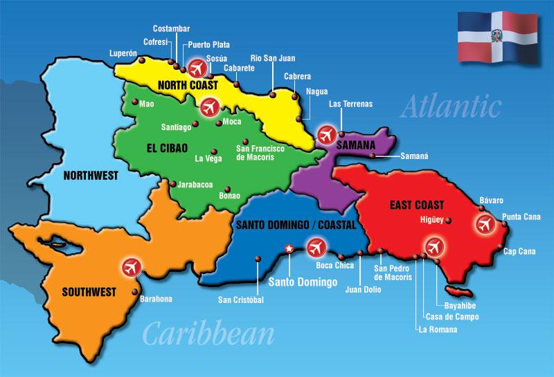 Где находиться Доминикана