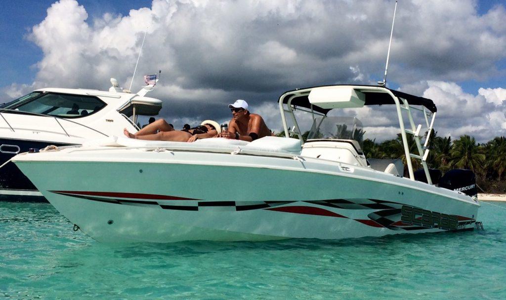частный катер на остров саона
